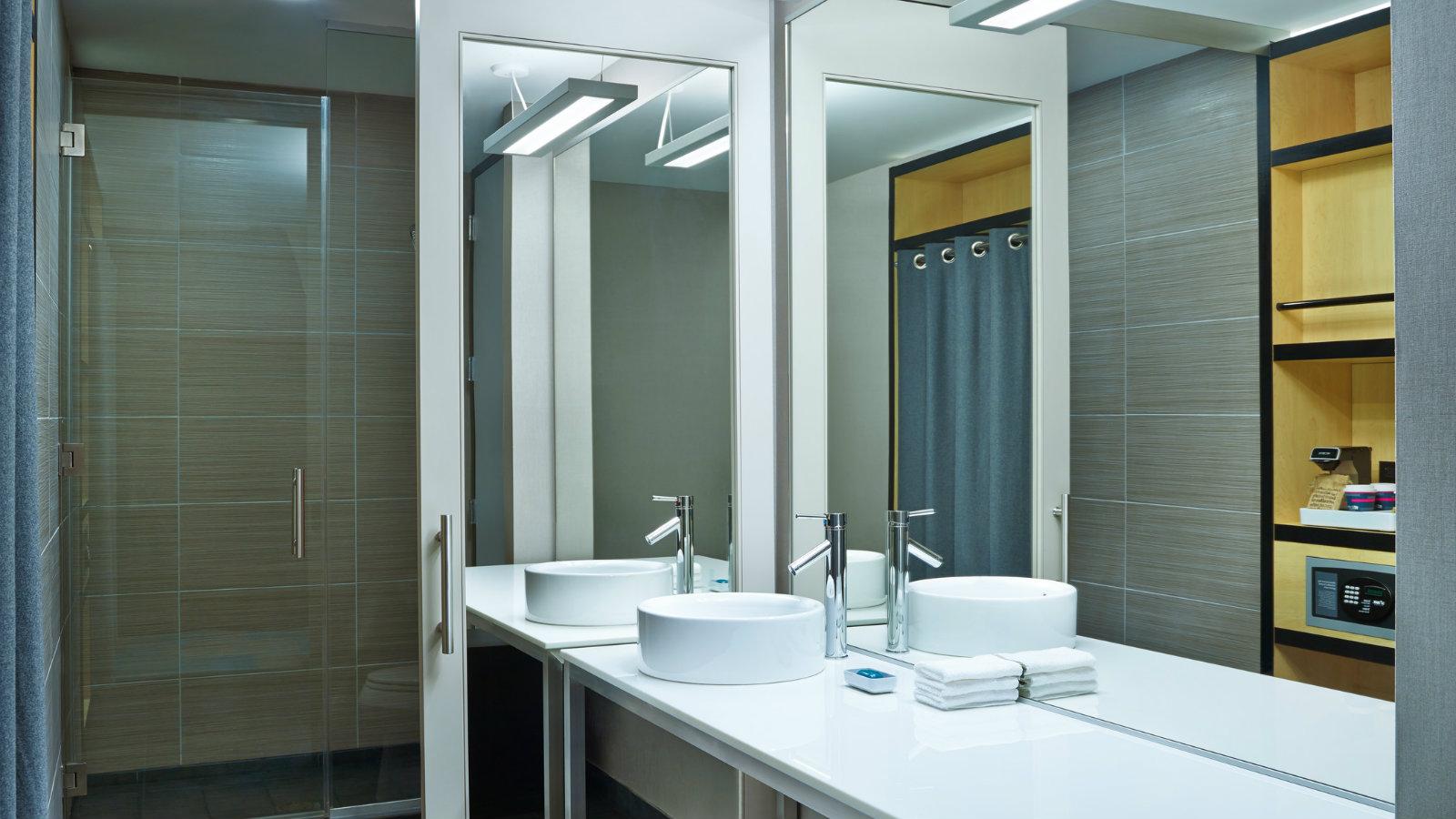Bathroom Sinks Okc aloft oklahoma city downtown - brides of oklahoma
