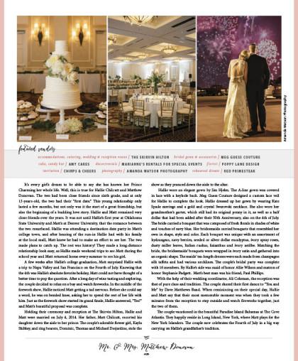 Wedding 2015 Spring-Summer Issue_A28