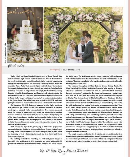 Wedding 2015 Spring-Summer Issue_A15