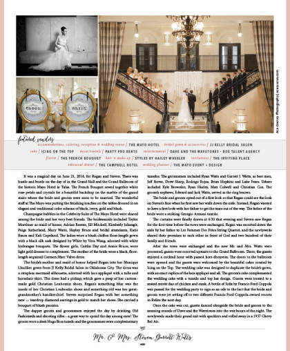 Wedding 2015 Spring-Summer Issue_A68