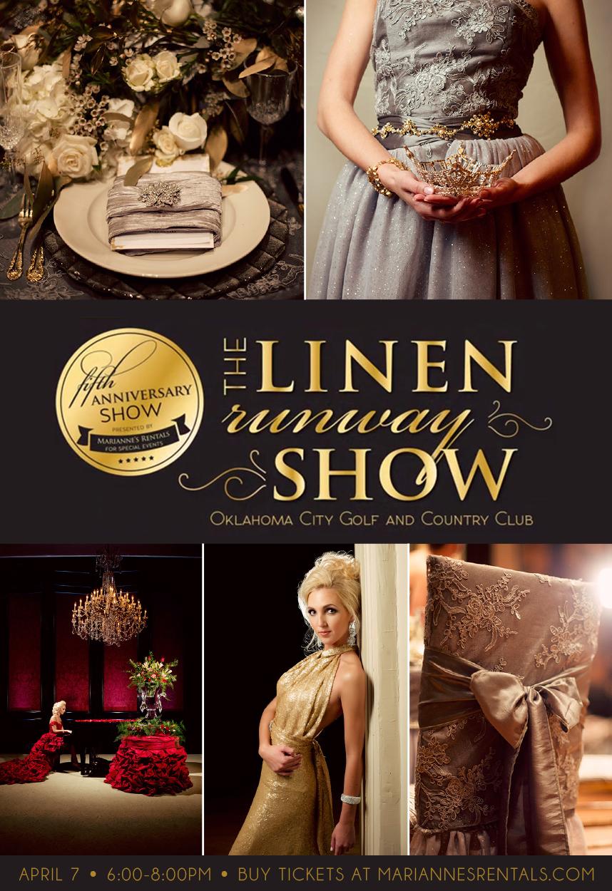 linen runway show