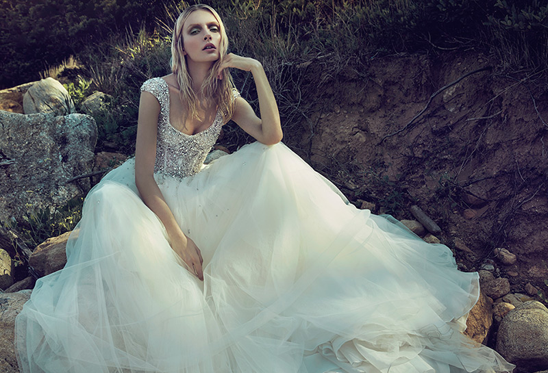 Spring 2015 Wedding Gowns from Badgley Mischka