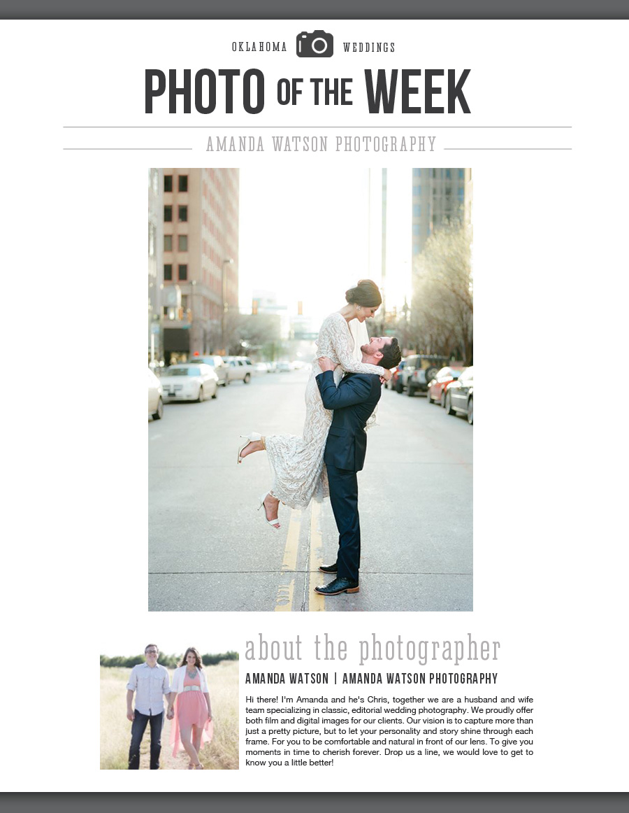 OKC wedding photographer
