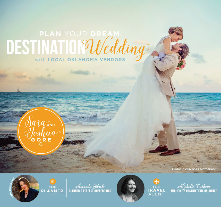 Oklahoma destination wedding planner