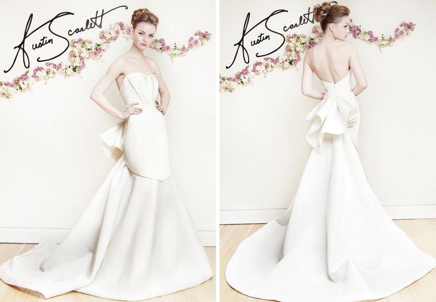 Austin Scarlett Wedding Dress Spotlight | Spring 2016 Collection
