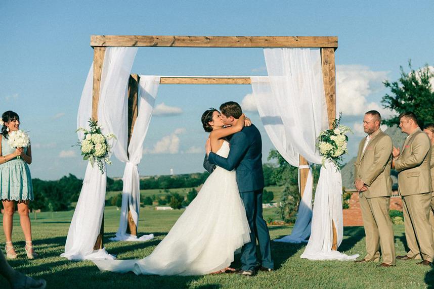Wedding altar inspiration from oklahoma vendors wedding altar inspiration junglespirit Images
