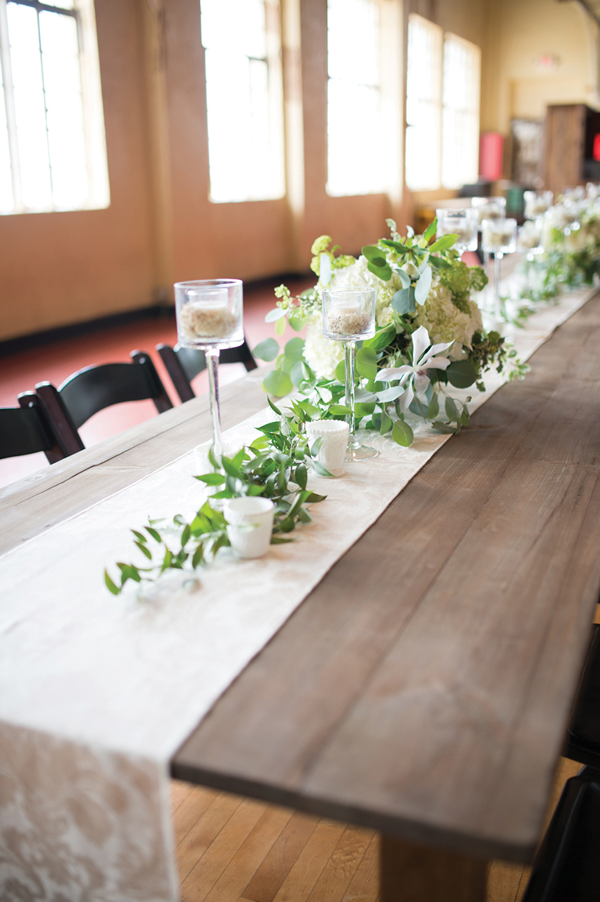 Organic farm table