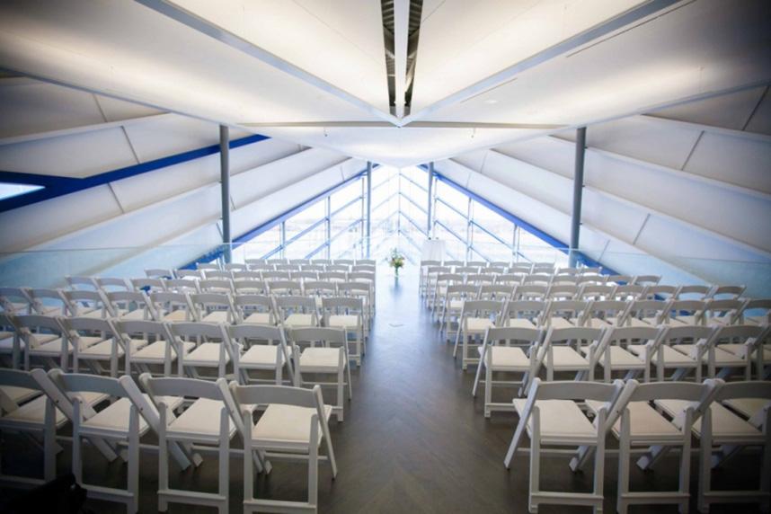 Okc boathouse wedding