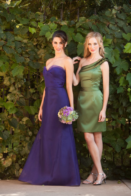 Pretty Pairings- Purple or Olive