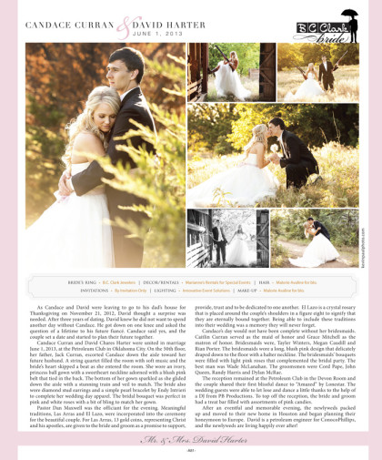 Wedding announcement 2014 Spring/Summer Issue – A81_January 2014 Bride Pages 79.jpg