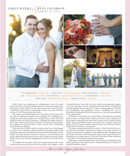 Wedding announcement 2014 Spring/Summer Issue – A78_January 2014 Bride Pages 76.jpg
