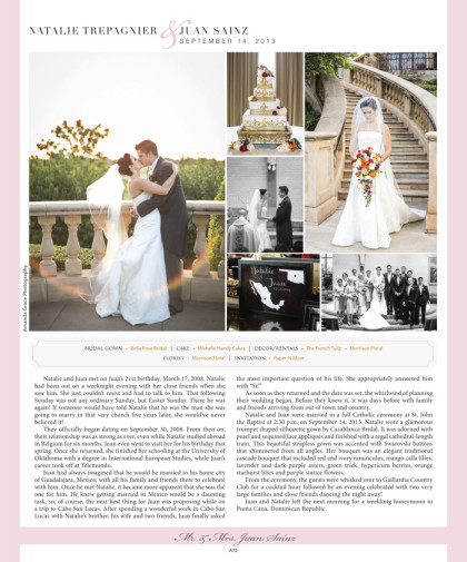Wedding announcement 2014 Spring/Summer Issue – A72_January 2014 Bride Pages 70.jpg