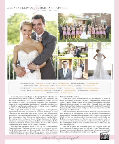 Wedding announcement 2014 Spring/Summer Issue – A71_January 2014 Bride Pages 69.jpg