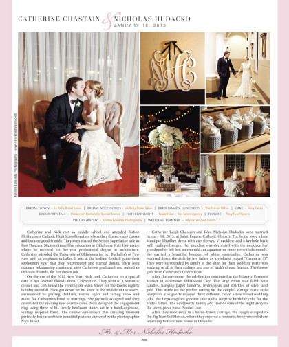 Wedding announcement 2014 Spring/Summer Issue – A66_January 2014 Bride Pages 64.jpg