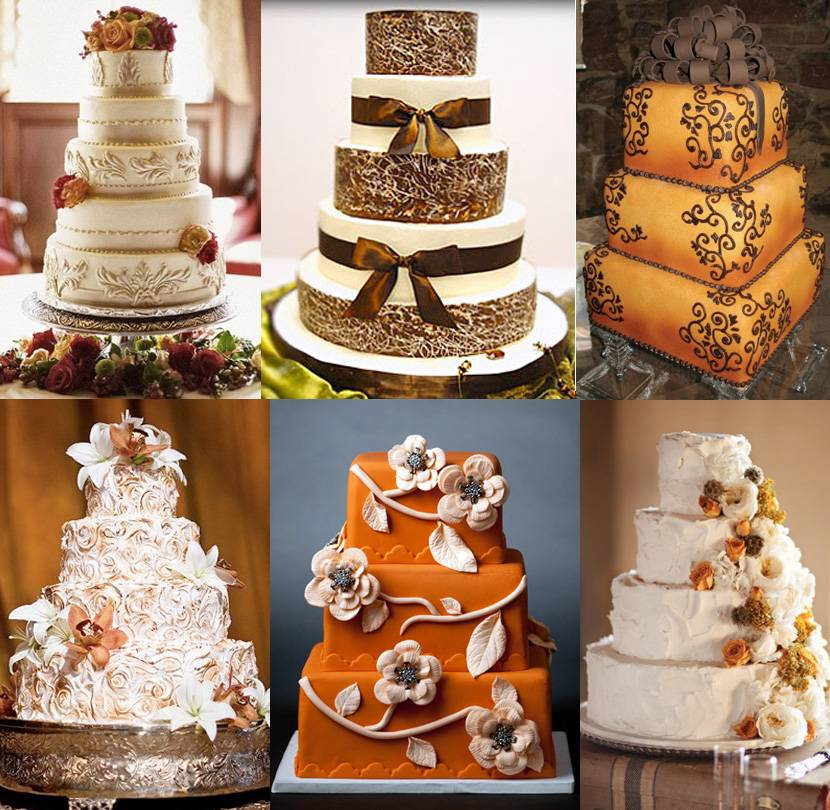 wedding cakes okc fall cakes brides of oklahoma 25163