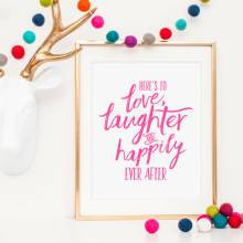 Love, Laughter Print
