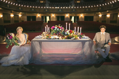Ballet Masque - Sue and Lou Events Table Top - Kelsi Laine ...