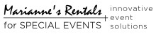Mariannes Rentals for Special Events - Oklahoma Wedding Lighting