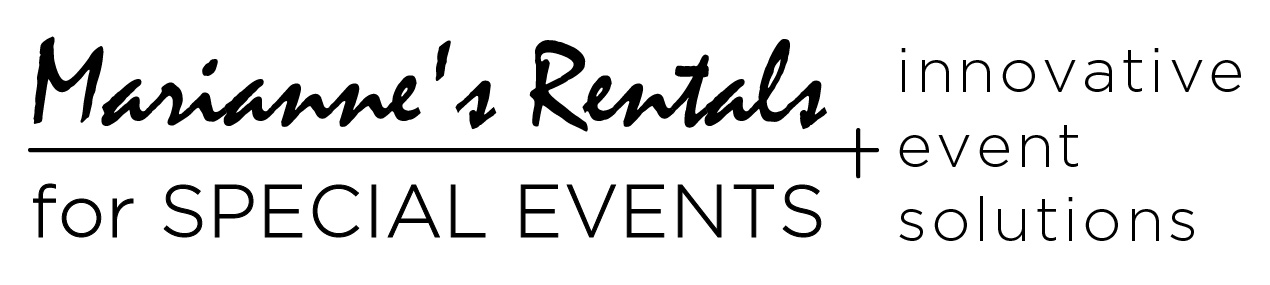 Mariannes Rentals for Special Events - Oklahoma Wedding Rentals