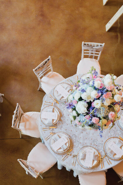 Gorgeous Pastel Wedding At Mcgranahan Barn Kelley Katie