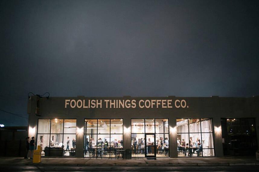 Industrial Oklahoma Wedding Venue Foolish Things Coffee Co