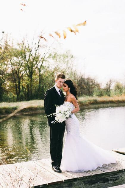 Black Tie Tulsa Wedding | Ashlynn + Nathan