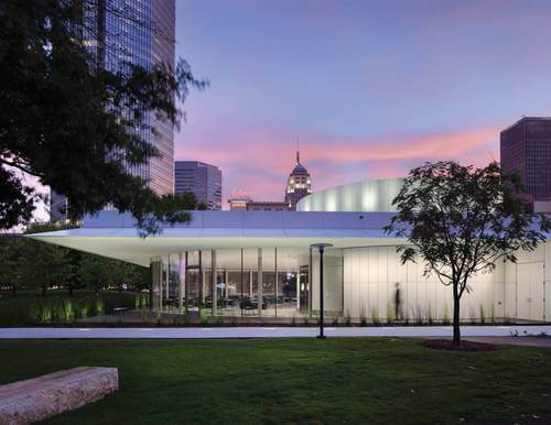 Park House at Myriad Gardens - Oklahoma Wedding Venues