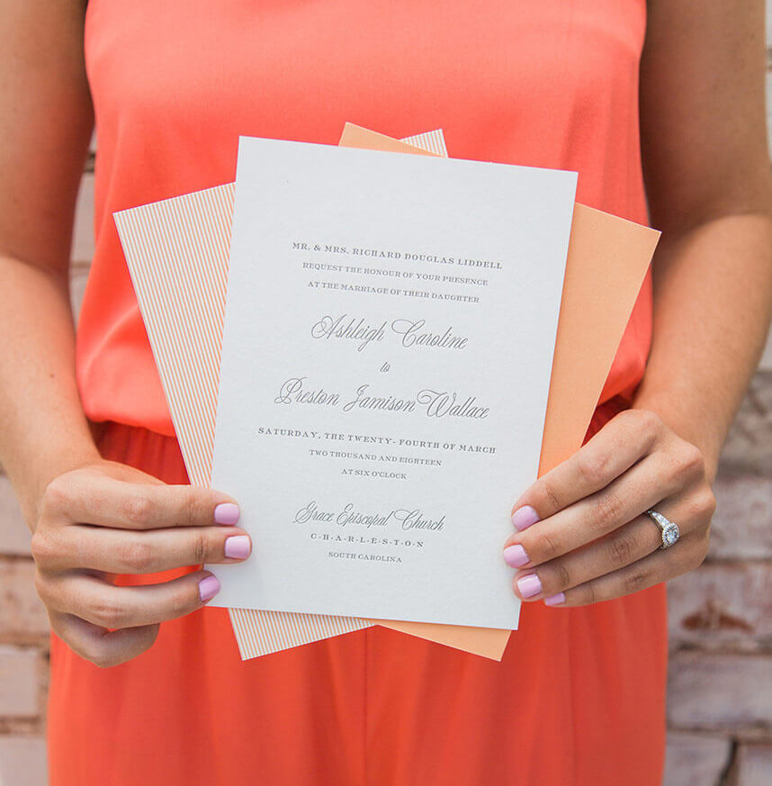 What Is The Etiquette For Wedding Invitations: Wedding Invitation Etiquette 101 From Occasions Paper