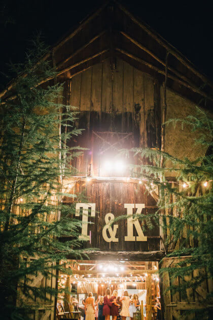 Rustic Oklahoma Wedding From Ever Something Event Styling