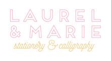 Laurel & Marie - Oklahoma Wedding Calligraphy