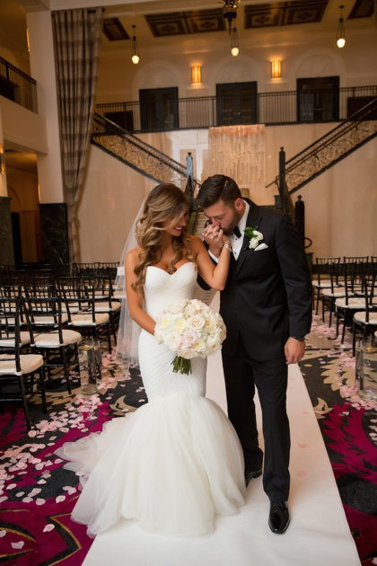 Jessica Wallace And Blaine Teague S Glam Tulsa Wedding