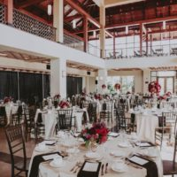 modern oklahoma wedding reception
