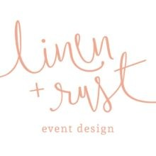 Linen + Rust Event Design Wedding Planner