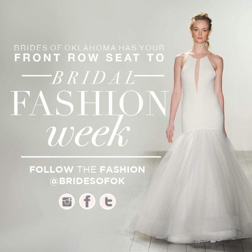 New York International Bridal Fashion Week Kicks Off!