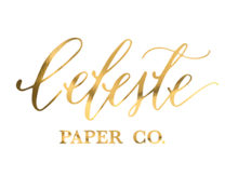 Celeste Paper Co. - Oklahoma Wedding Calligraphy