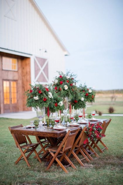 Country Christmas Styled Shoot by Allyson Whitney Designs