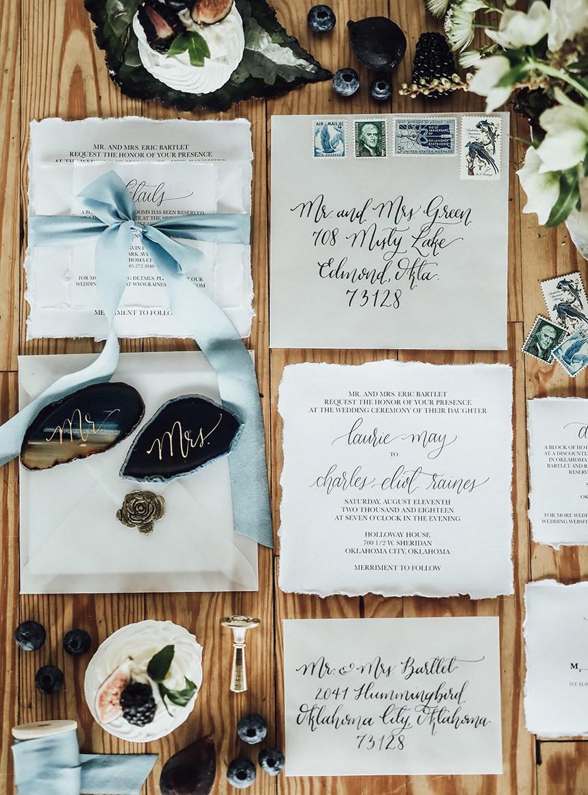Meet the Mag Creatives: Oklahoma Wedding Invitations