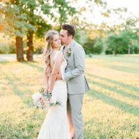 Kirstin Poindexter Weds Dustin Hester Rustic Pastel Oklahoma Wedding by Forever Cole Events