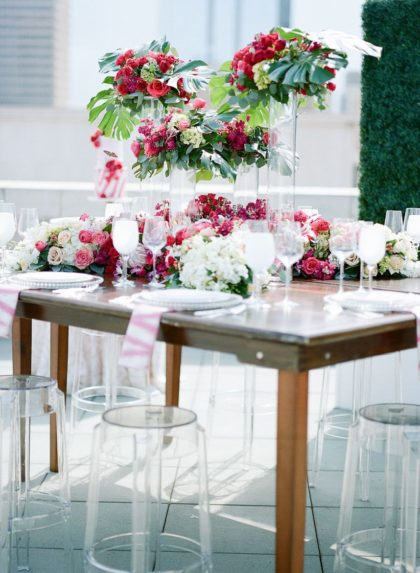 Colorful Rooftop Soiree Oklahoma Wedding Planner Alli Coleman Events
