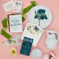 paper and presents Oklahoma wedding photographer Tara Lokey Photography
