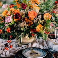 moody elegance wedding