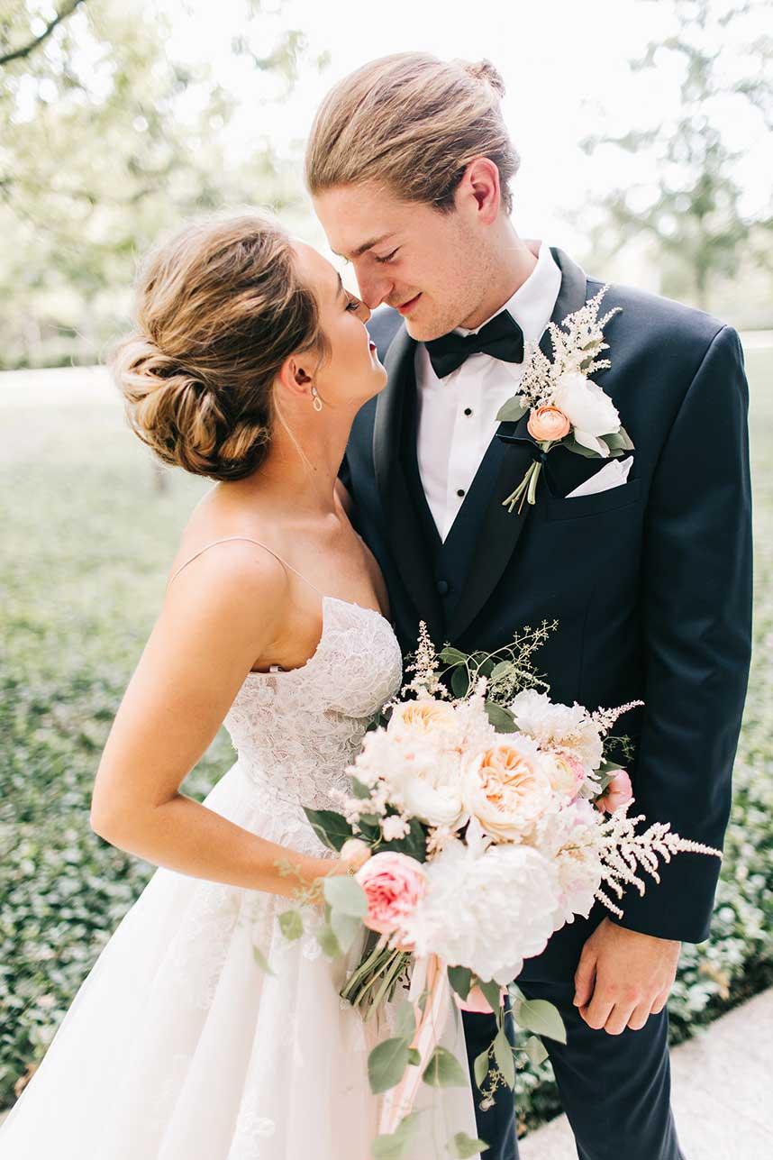 Emily Kurtz Weds Sam Johnson Oklahoma Wedding at Myriad Gardens by Inspire Events