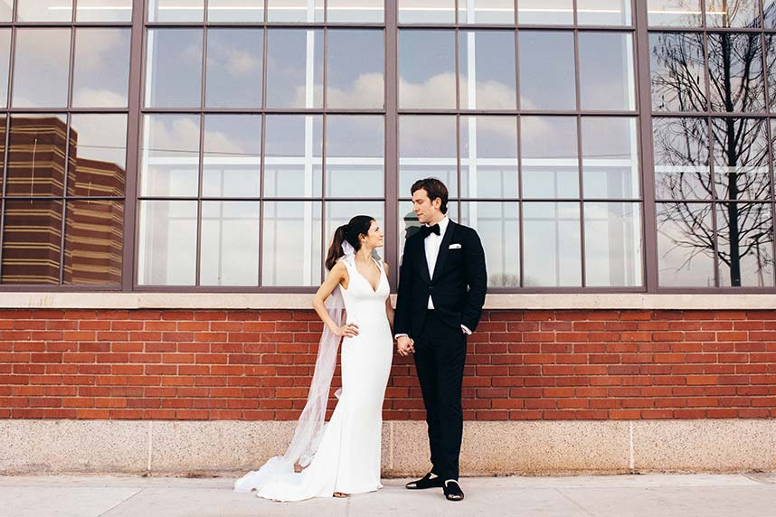 Jacqueline Fish Weds Eitan Reshef Minimalist Chic Oklahoma Wedding Captured by Kevin Paul Photography