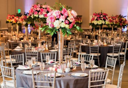 Katy Lang Weds John Sheets | Colorful Ballroom Wedding Captured by Kristen Edwards Photography
