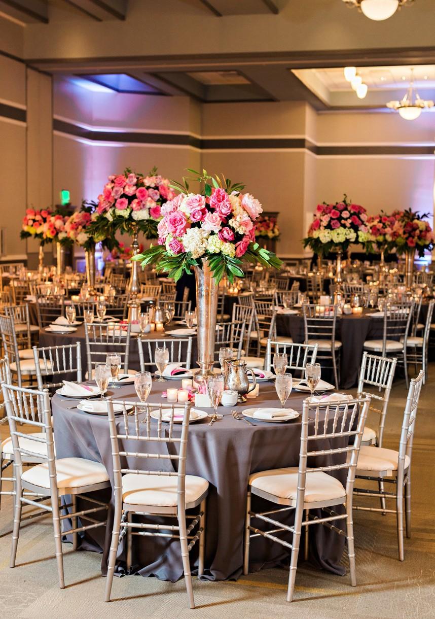 Katy Lang Weds John Sheets | Colorful Ballroom Wedding Captured by Kristen Edwards Photography