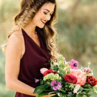 Berry Bliss Color Collab Styled Shoot Oklahoma Wedding Photographer Kevin Paul Photography