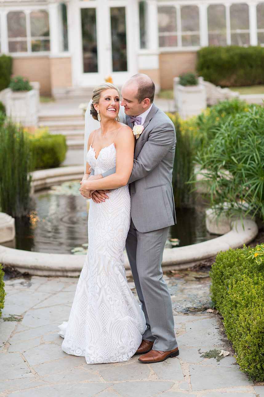Marci Collins Weds James Deck Outdoor Garden Wedding in Tulsa