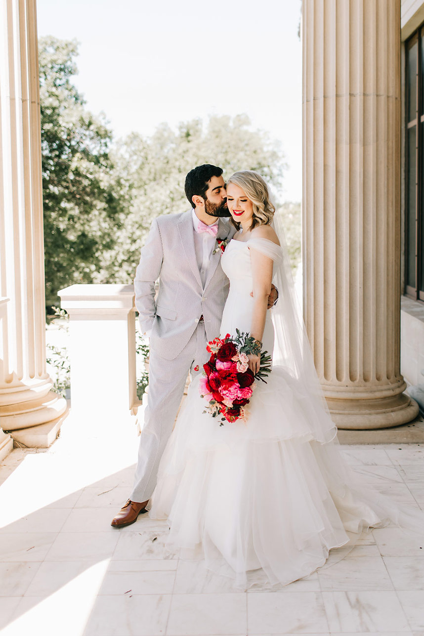 Megan Anson Weds Phillip White Whimsical Brunch Wedding Captured by Sarah Libby Photography