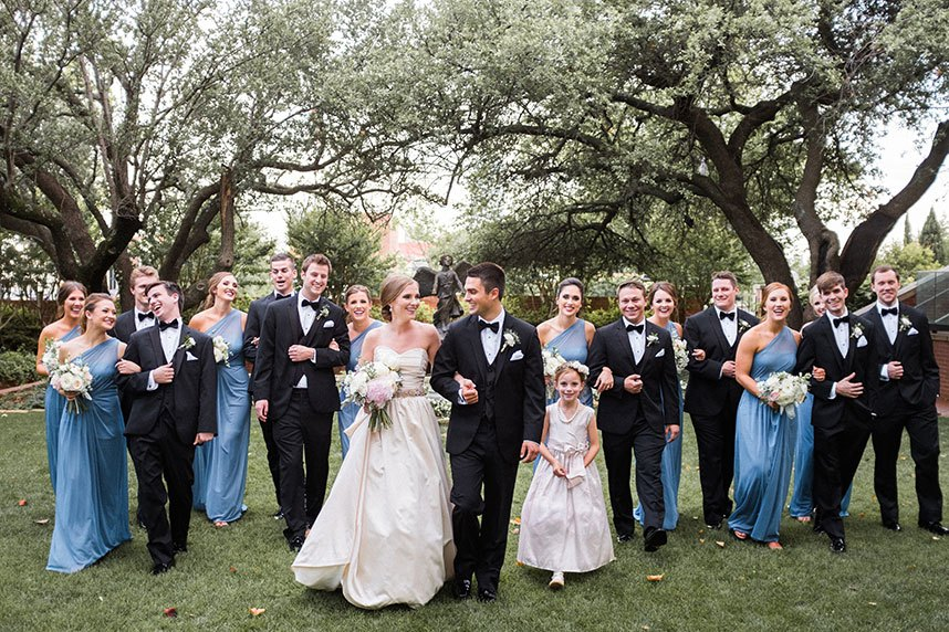Chandler Wells Weds TJ Pope | Classic Pastel Ballroom Wedding Captured by Josh McCullock