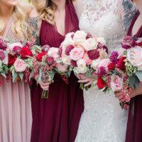 Sara Humphreys Weds Lonnie Clark   Enchanted Rustic Wedding at Rose Briar Place